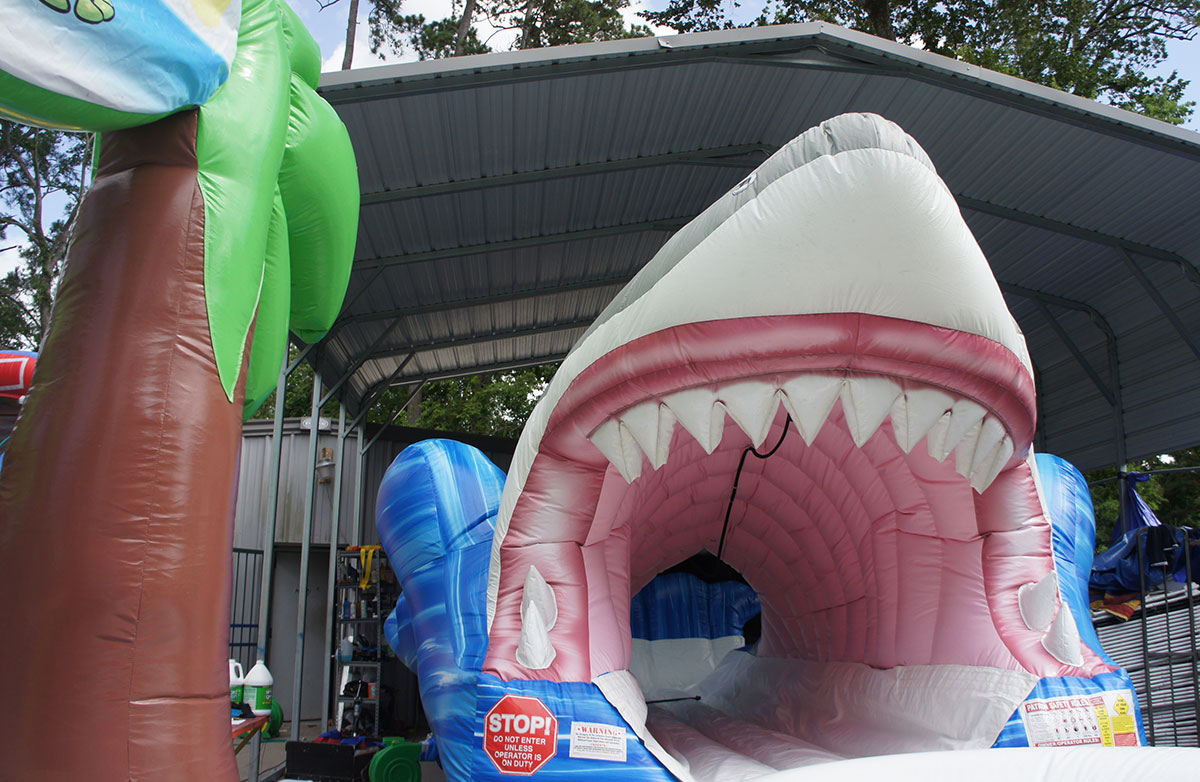 Kids Party Inflatable Teen Slide