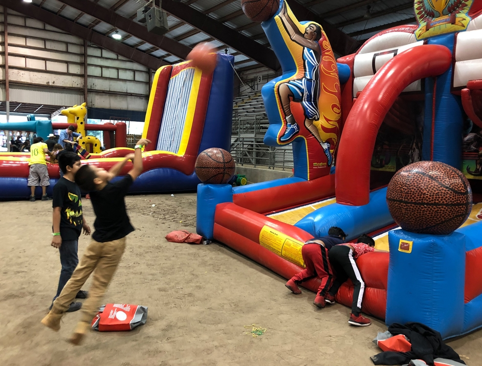 Basketball Inflatable Rentals