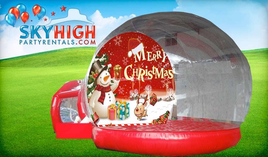 Giant Inflatable Snow Globe Houston