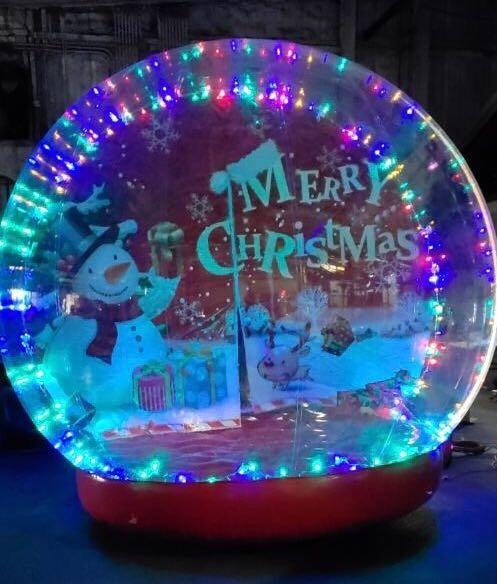 Snow Globe Rentals Houston with Lights