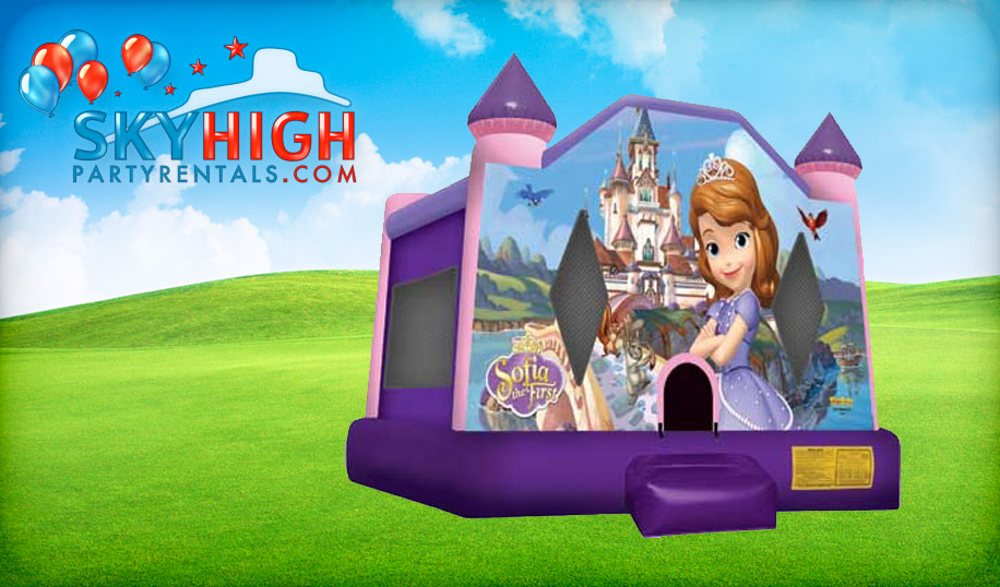 Sofia The First Bounce House combo