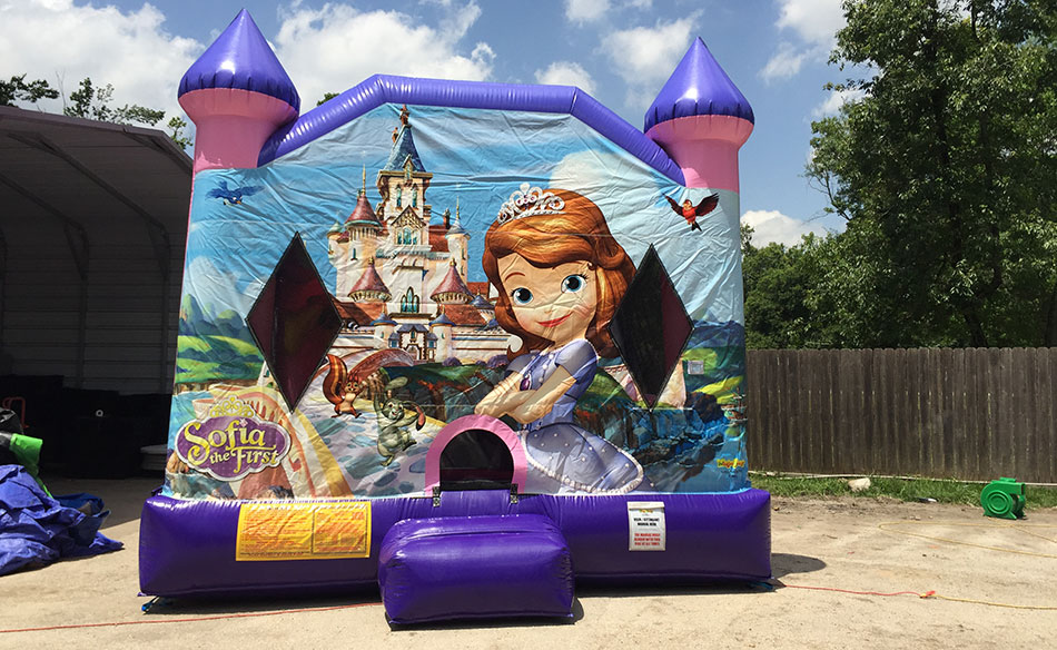 Sofia The First Inflatable