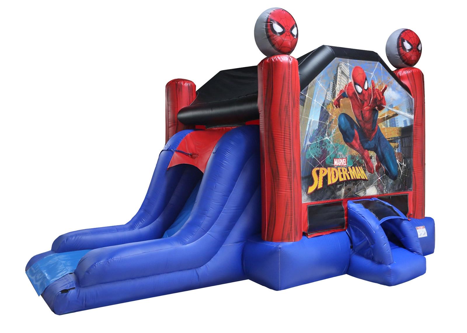 Spiderman Bounce House Combo