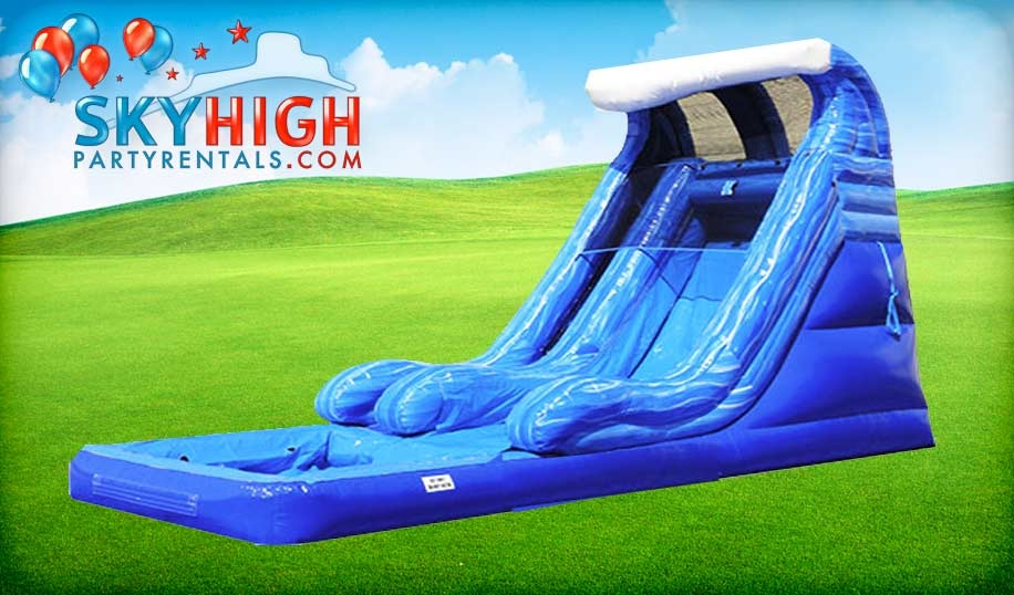 Wave Water Slide inflatable