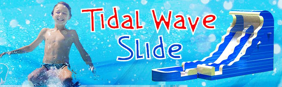 Big Tidal Wave Water Slide Rental