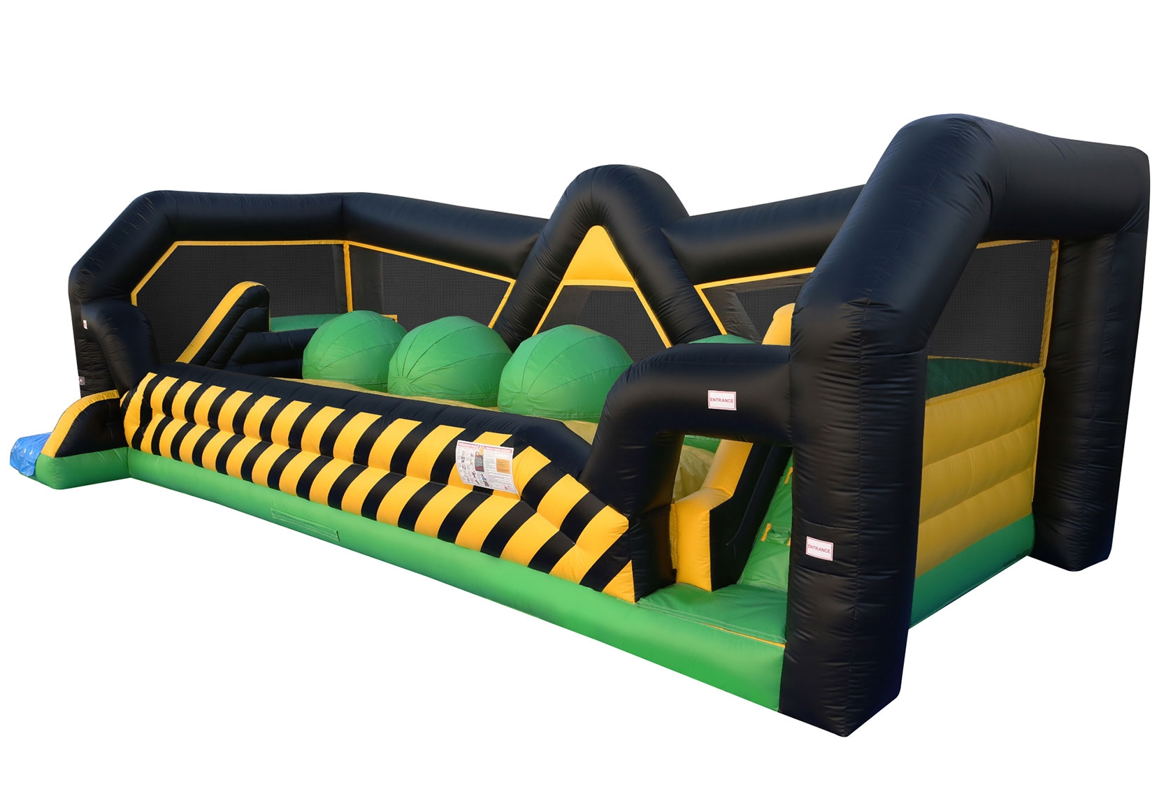 Leaps and Bounds Bouncy Wipeout