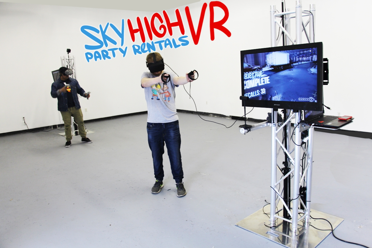 Corporate Entertainment Virtual Reality Rentals