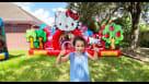 Hello Kitty Toddler Bounce House Youtube