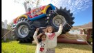 Monster Truck Inflatable Combo Jump Youtube