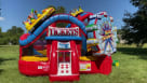 Midway Carnival Bounce House Youtube