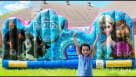 Frozen Toddler Inflatable Youtube