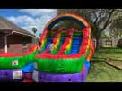 Toddler Rainbow Water Slide Rentals Youtube