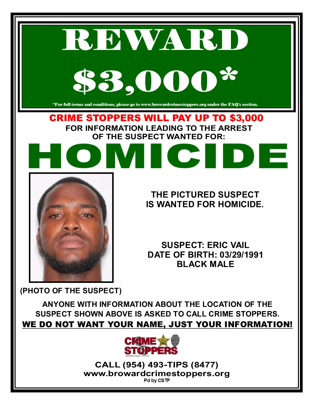 Submitting Tips on Crimes Pays | Broward Crime Stoppers