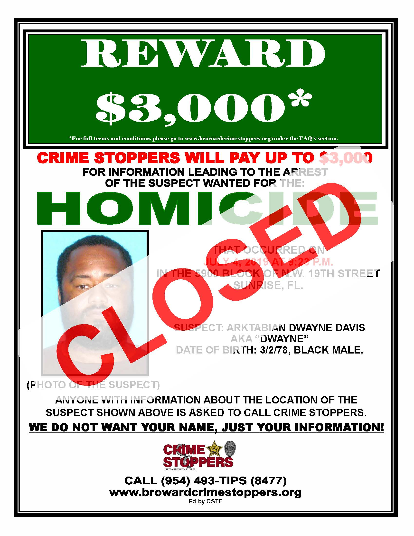 All Crimes | Broward Crime Stoppers