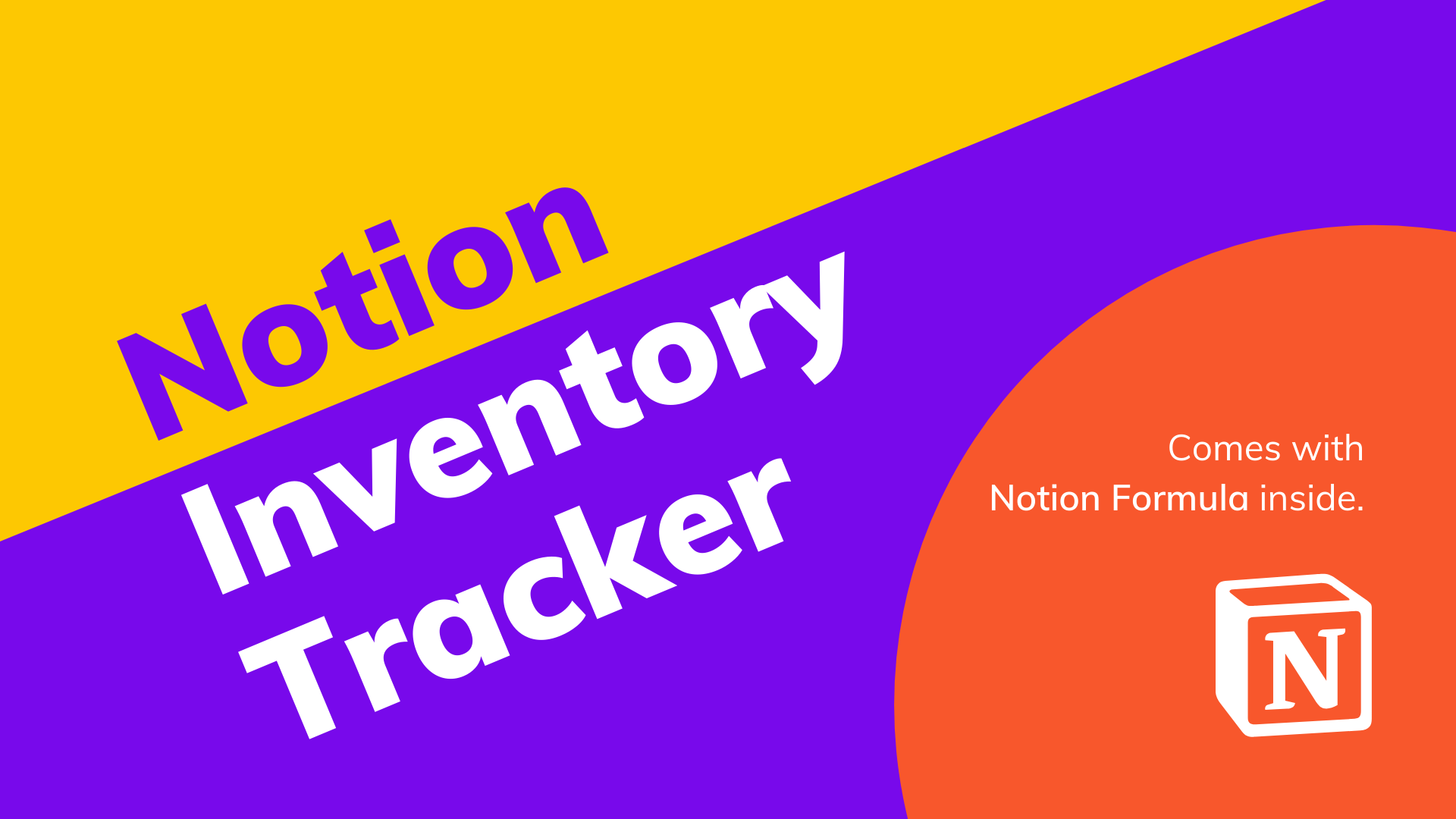 Inventory Tracker | Free Notion Template At Prototion