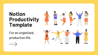 Notion Productivity Template | Supercharge Your Life
