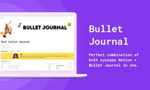 Notion Bullet Journal | Notion Template  | Prototion