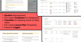 Teacher OS   Notion Dashboard   Get it at Prototion