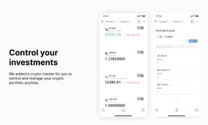 Finance & Crypto Tracker   Notion Template  Prototion