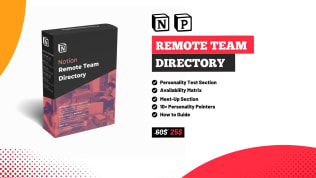 Remote Team Directory | Buy Template at Prototion