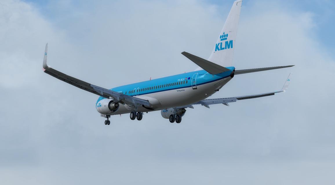 KLM B738 F1 Tour