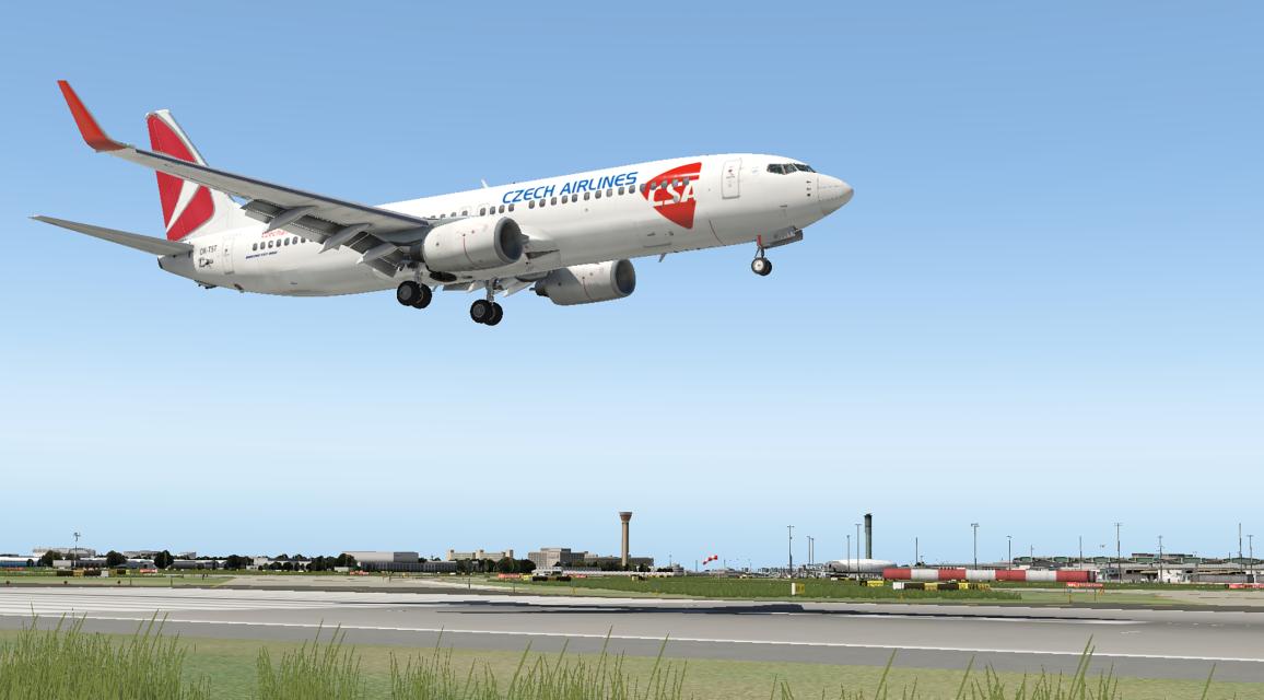 CSA B738 OK-TST