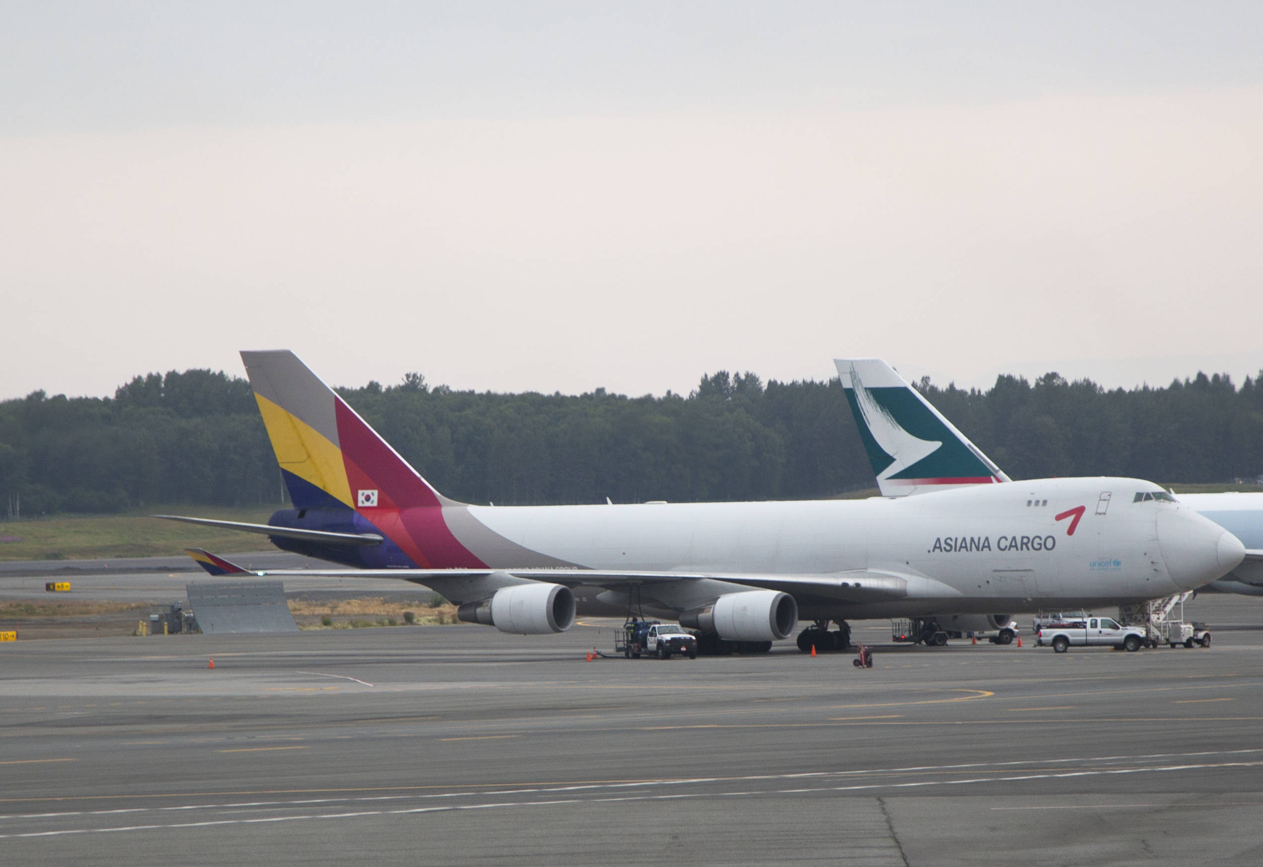 Asiana Airlines Boeing 747-446F - Star Alliance Virtual