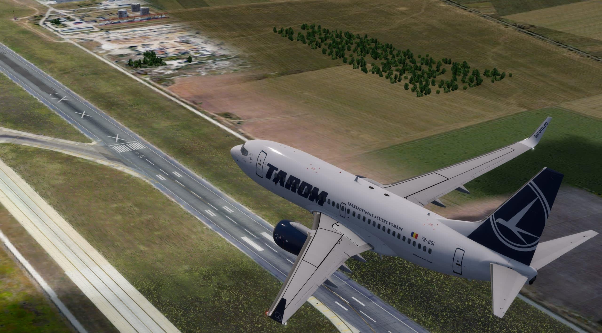 Tarom Czech airlines tour