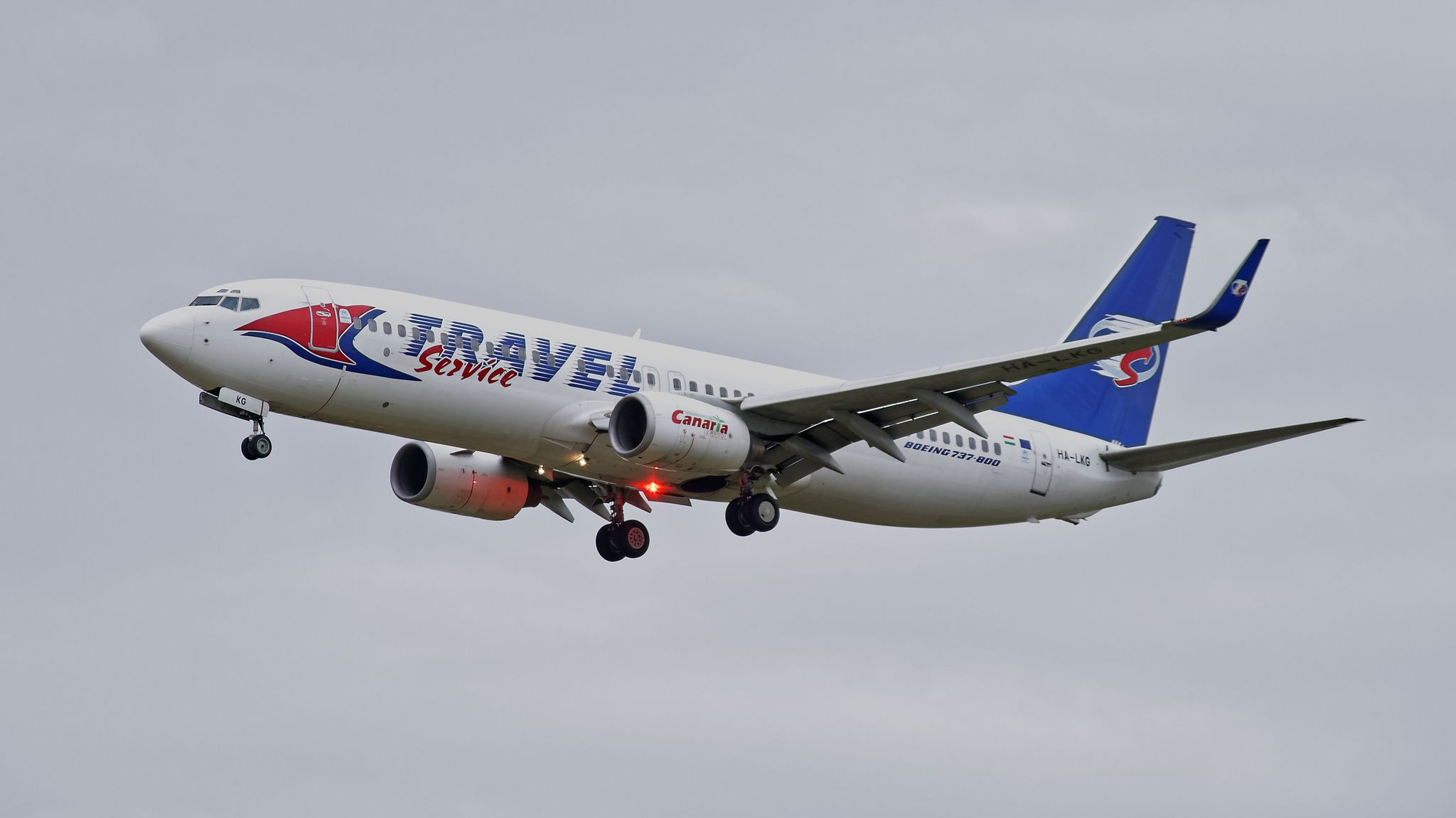 Boeing 737-8FH(WL)