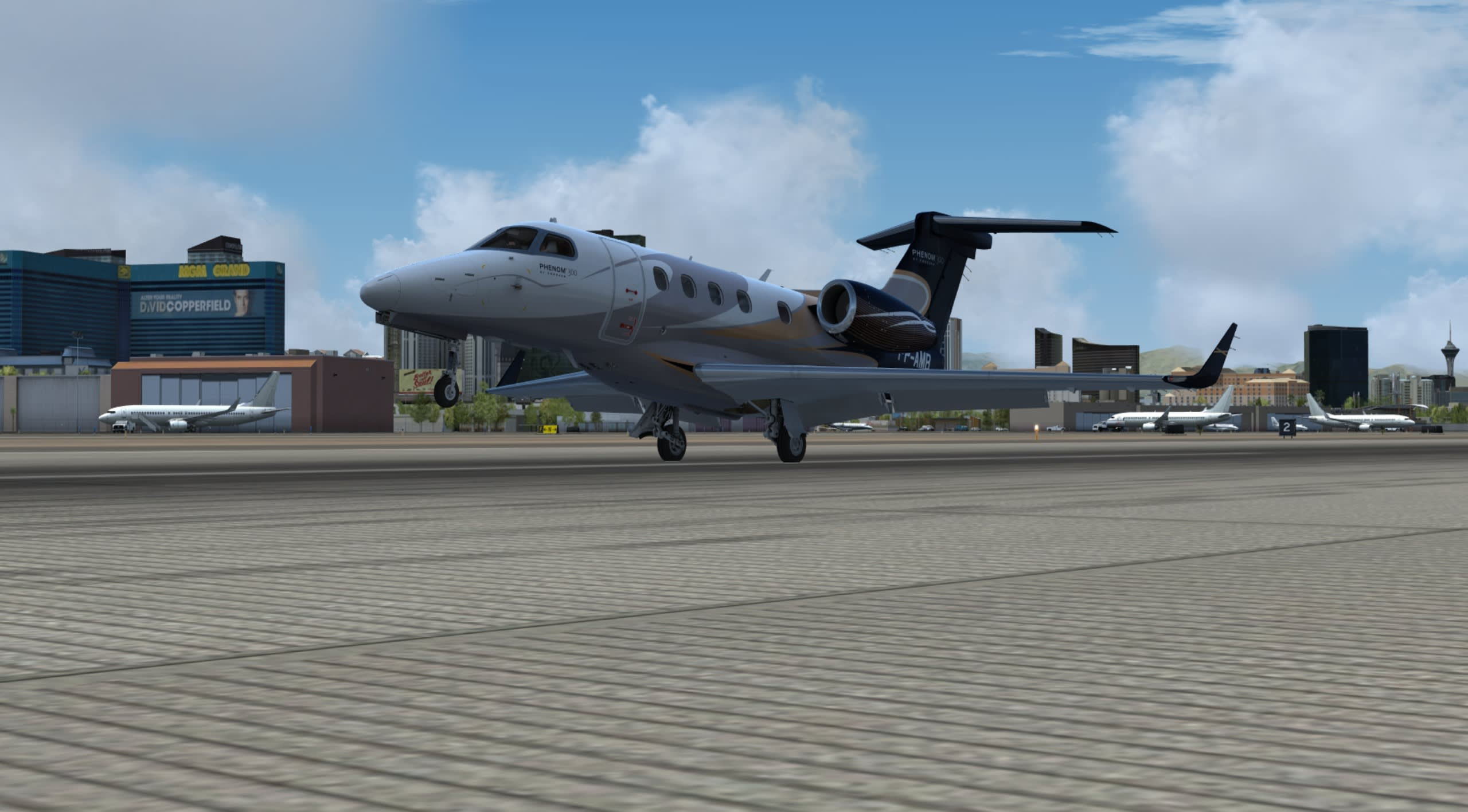 Privat Jet Tour. Screenshot taken by Pablo Bandera