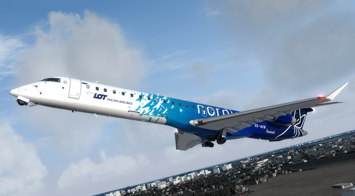 Baltic Tour EST CRJ900