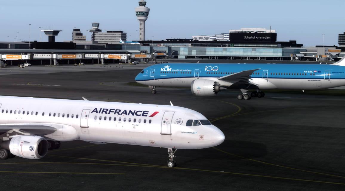 AFR A321 KLM B789