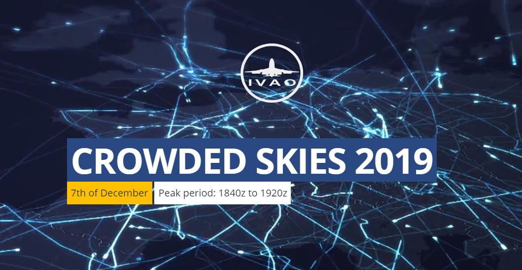 IVAO Crowded Skies 2019