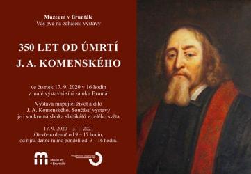 350 let od úmrtí J.A.Komenského
