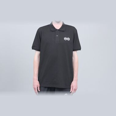 Jet Lag Brothers Bizniz Lounge Polo Shirt Black