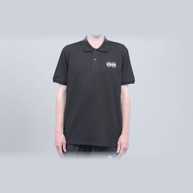 Jet Lag Brothers Bizniz Lounge Polo Shirt Black