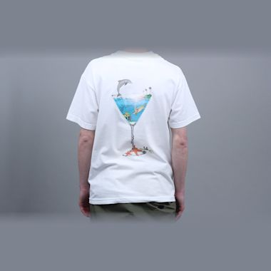 Alltimers Tropical Fantasy T-Shirt White