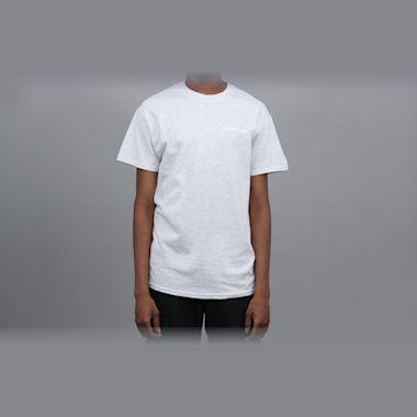Second view of Blast Skates Mascot Logo T-Shirt Ash Grey