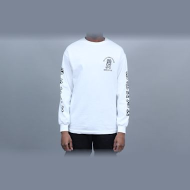 Second view of 5Boro Hawaii Division Longsleeve T-Shirt White