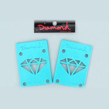 Diamond Riser Pads Blue