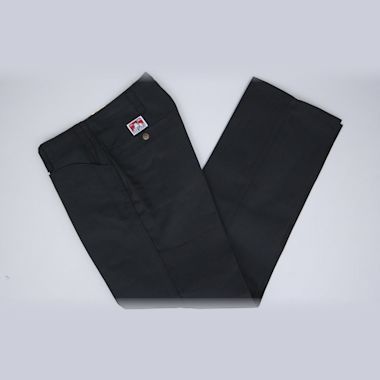 Second view of Ben Davis Trim Fit Pants Black
