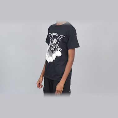Second view of 917 Cyrus Angel Of Death T-Shirt Black