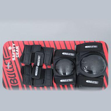 Bullet Skateboard Junior Pad Set Black