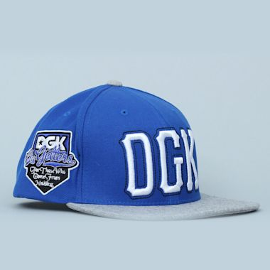 DGK Getters Snapback Cap Royal / Grey