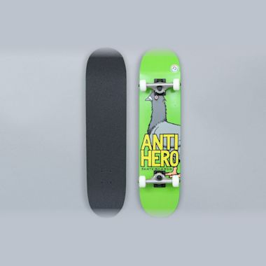 Anti Hero 7.5 Pigeon Hero Small Complete Skateboard Green