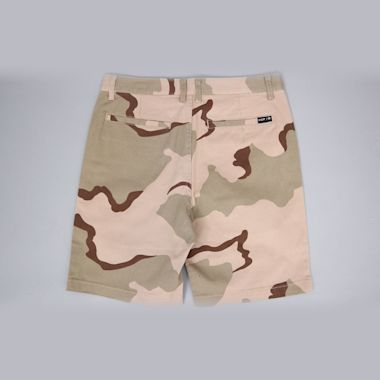 Second view of HUF Fulton Classic Shorts Desert Camo