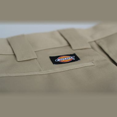 Second view of Dickies 273 Slim Fit Work Shorts Khaki