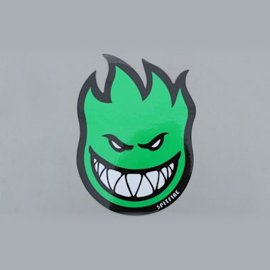 Spitfire Wheels Classic Sticker Green