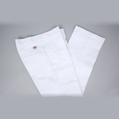 Second view of Dickies Original Fit 874 Work Pant White