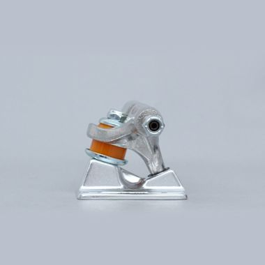Second view of Independent 139 Hollow Forged Skateboard Trucks  Stage 11 Raw Silver (Pair)